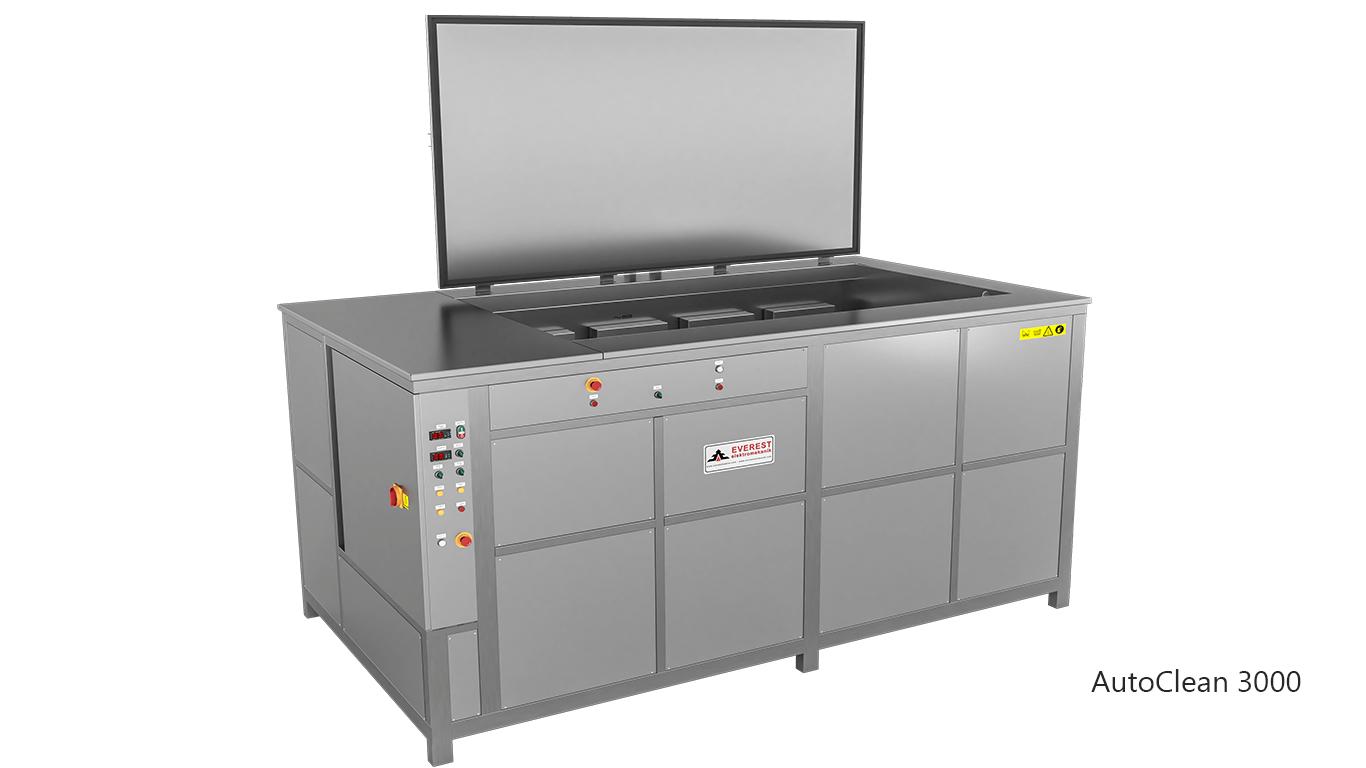 Máquinas de limpieza y lavadoras por ultrasonidos para limpieza de piezas y motores en talleres mecánicos de coches - AUTOCLEAN 3000