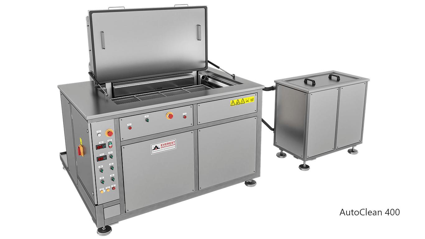 Máquinas de limpieza y lavadoras por ultrasonidos para limpieza de piezas y motores en talleres mecánicos de coches - AUTOCLEAN 400